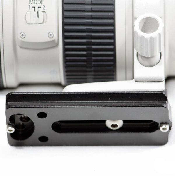 Arca Swiss kompatibel Schnellwechselplatte f/ür Objektive JJC LP-100