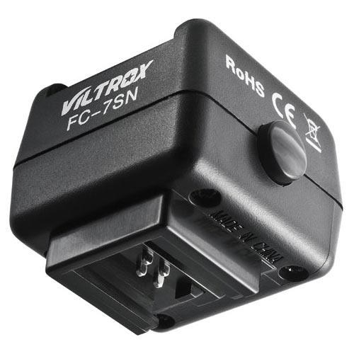 Blitzzubehr: Viltrox FC-7SN Blitz-Adapter fr Fremdblitze auf ...